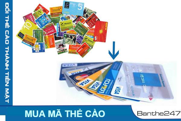 Cách mua thẻ điện thoại đơn giản và nhanh chóng trên Banthe247.com