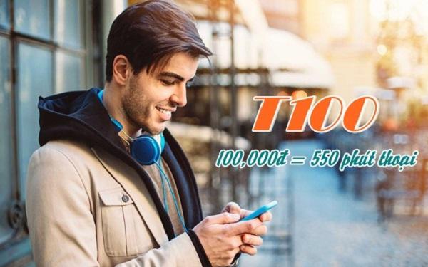 Gọi thả ga không lo về giá khi tham gia gói T100 Viettel