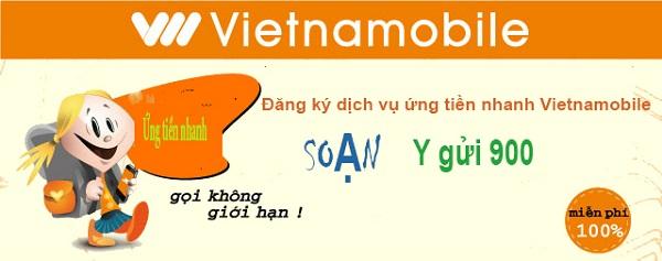 Làm sao để ứng tiền mạng Vietnamobile nhanh nhất?