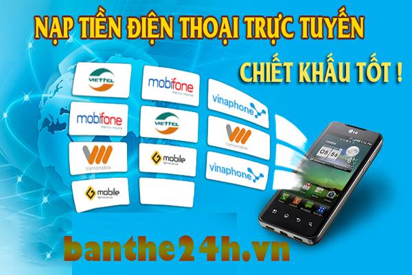 Banthe247.com - Địa chỉ mua thẻ điện thoại giá rẻ nhất hiện nay