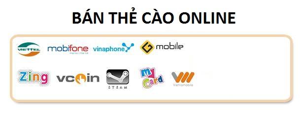 website chuyên bán thẻ cào online uy tín, nhanh chóng nhất hiện nay