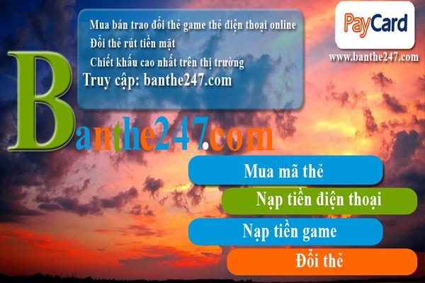 Kinh nghiệm  mua thẻ cào tại Banthe247.com chiết khấu cao nhất