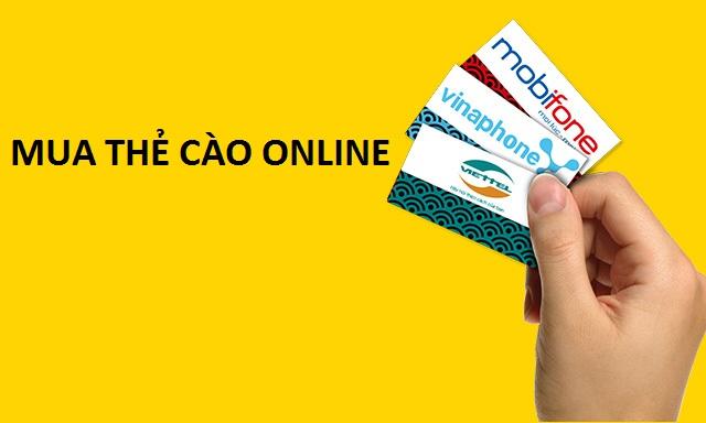 Hướng dẫn cách mua thẻ cào online đơn giản nhanh chóng nhất