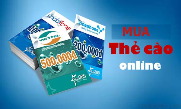 Hướng dẫn mua thẻ cào điện thoại online đơn giản chỉ trong một nốt nhạc