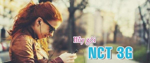 Hướng dẫn cách hủy gói cước NCT 3G Vinaphone qua đầu số 9025