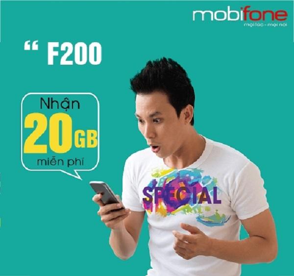 Hướng dẫn  cách đăng ký gói cước F200 Mobifone