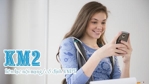 Chức năng của tài khoản KM2 mạng vinaphone