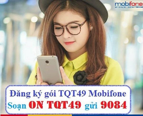 Ưu đãi 40 phút gọi miễn phí khi đăng ký gói cước TQT49 Mobifone
