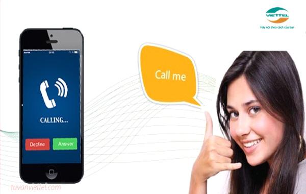 Hướng dẫn đăng ký dịch vụ yêu cầu gọi lại Viettel cho các thuê bao