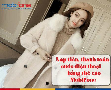 Làm sao thanh toán cước trả sau mobifone nhanh chóng bằng thẻ cào?