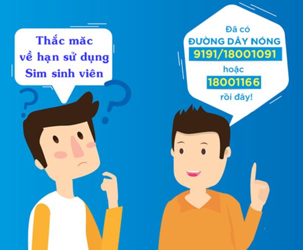 Sim sinh viên Vinaphone có thời hạn sử dụng bao lâu?