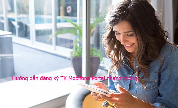 Làm sao để đăng ký tài khoản Mobifone Portal qua website?
