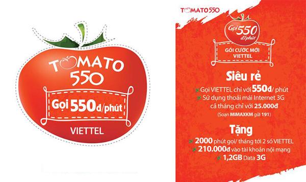 Những điều cần biết về sim nghe gọi mãi mãi, sim Tomato Viettel