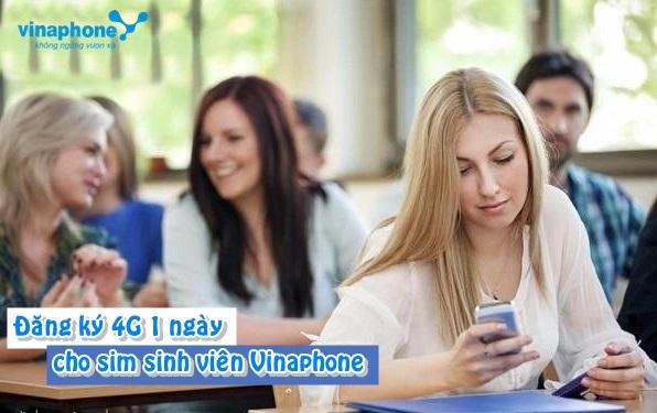 Mẹo đăng ký nhanh các gói cước 4G 1 ngày sinh viên Vinaphone