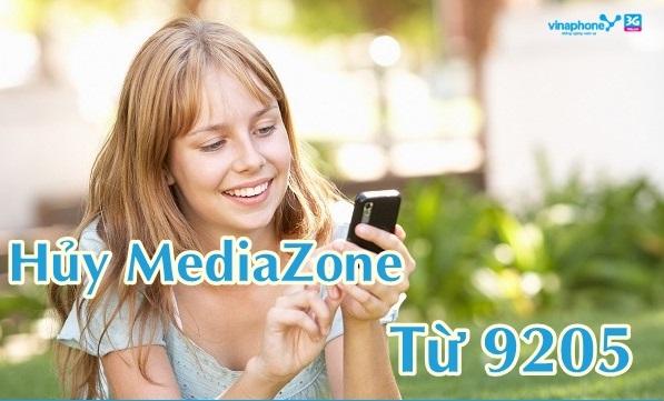 Làm sao để hủy nhanh dịch vụ MediaZone Vinaphone?