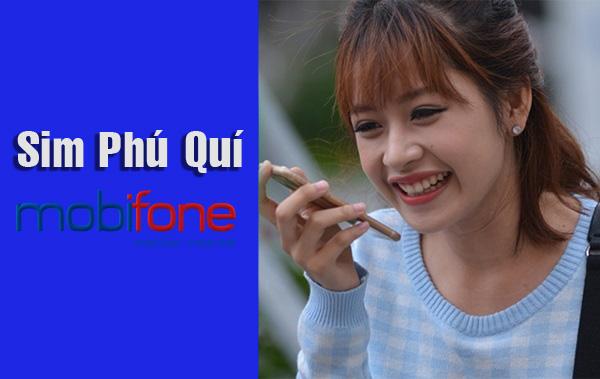 Check in những ưu đãi khủng của sim Phú Quý Mobifone trả trước