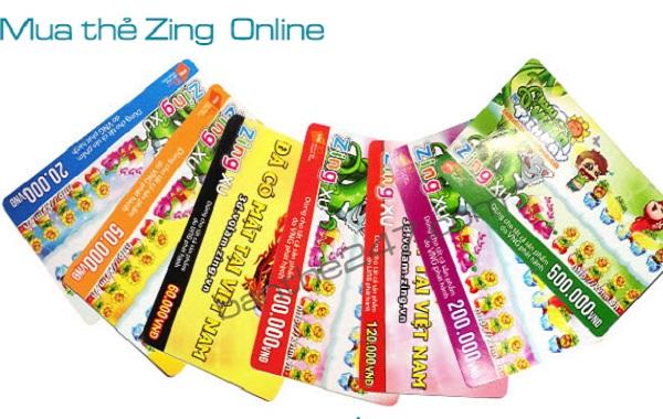 Cách mua thẻ Zing trực tuyến đơn giản nhất