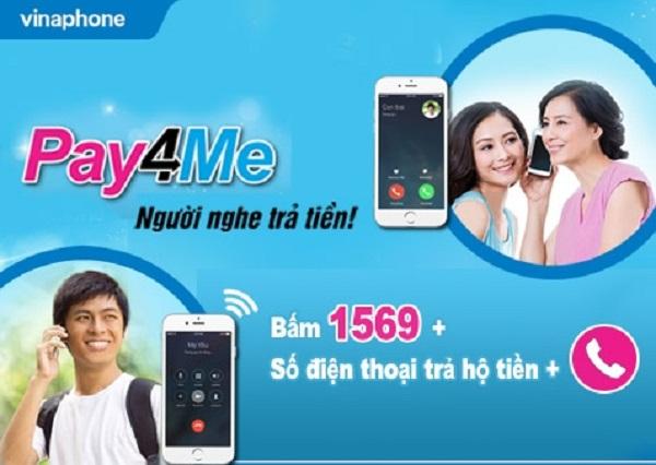 Làm sao để đăng ký dịch vụ tôi gọi bạn trả tiền với - Pay4Me Vinaphone