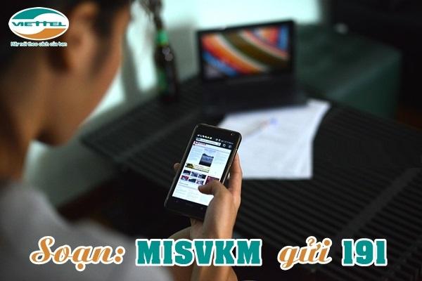 Chi tiết cách đăng kí gói MISVKM Viettel nhận ưu đãi lớn nhất