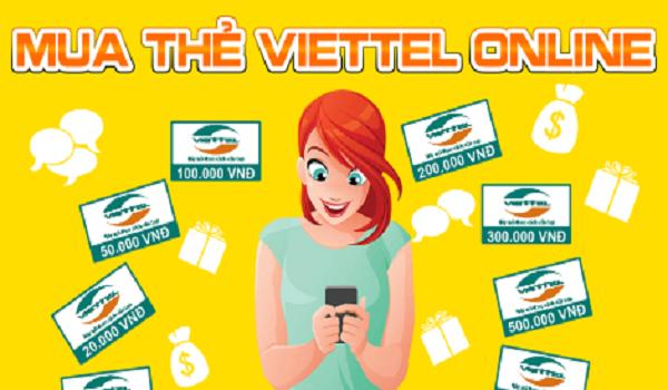 Cách mua thẻ viettel online