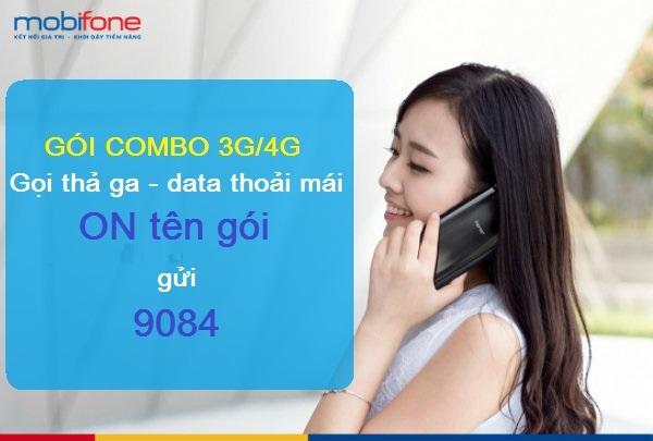 Danh sách gói cước Combo 4G Mobifone cho thuê bao trả sau