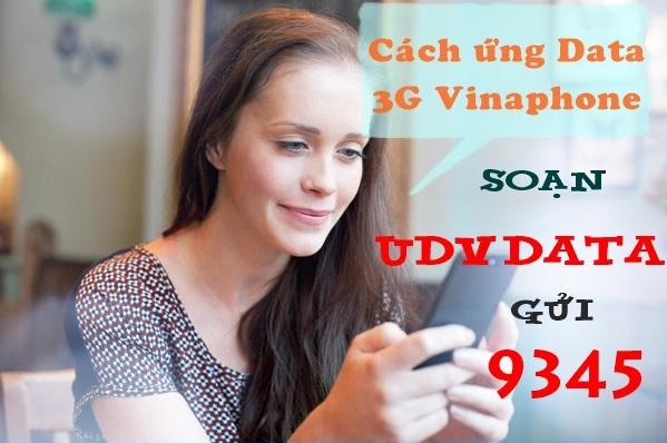 Ứng thêm từ 10MB đến 500MB data từ dịch vụ ứng data Vinaphone