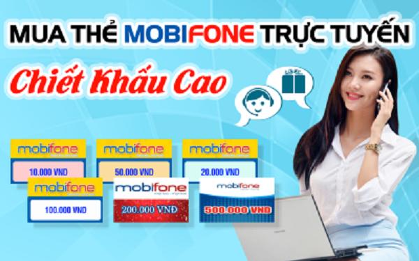 Hướng dẫn mua thẻ mobifone online giá rẻ