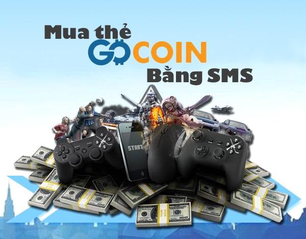 Hướng dẫn mua thẻ GoCoin bằng SMS Mobifone