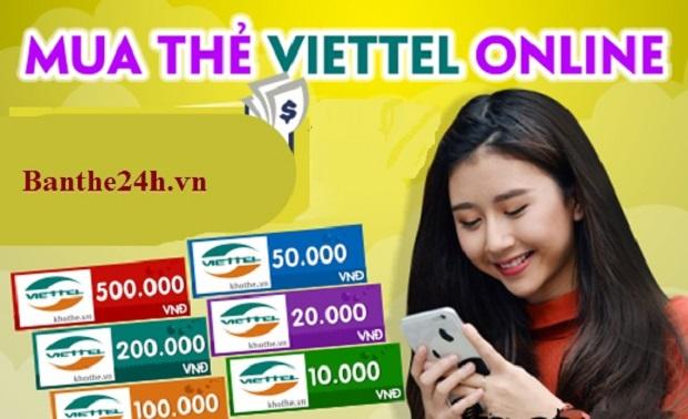 Mách nhỏ cách mua thẻ Viettel online nhanh nhất