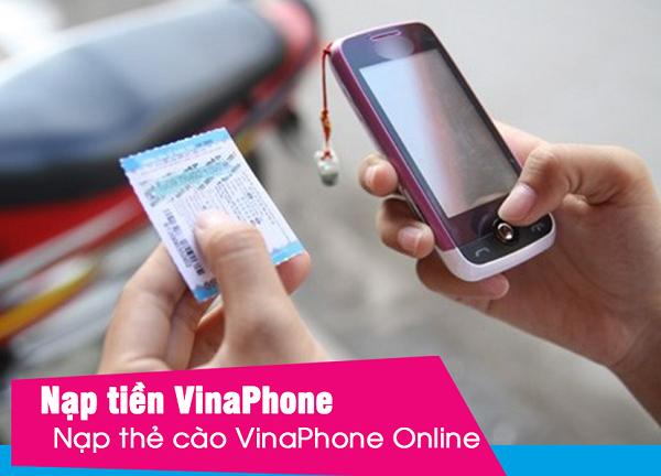 Chi tiết cách nạp thẻ Vinaphone 200k siêu nhanh