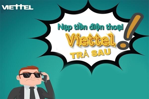 Cách nạp tiền điện thoại viettel trả sau online nhanh nhất