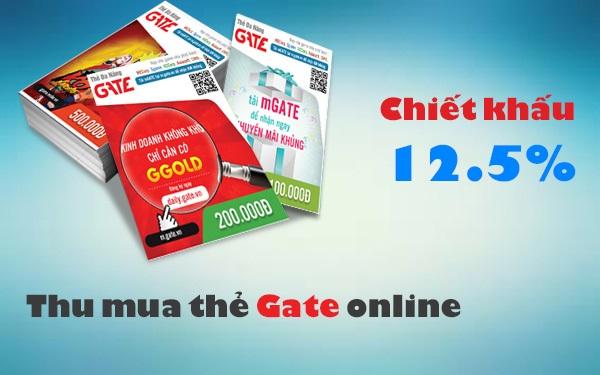 Hướng dẫn mua thẻ Gate chiết khấu cao nhanh nhất