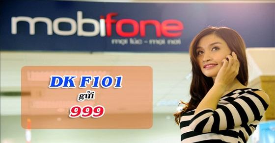 Gọi 10 phút tính tiền 1 phút khi tham gia gói cước F101 Mobifone