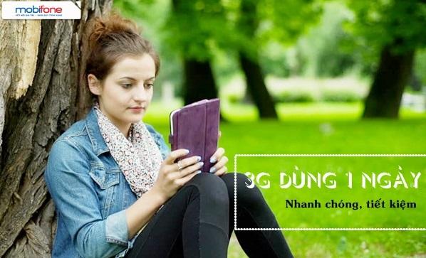 Đăng ký gói 3G 1 ngày D1 Mobifone chỉ với 8.000đ
