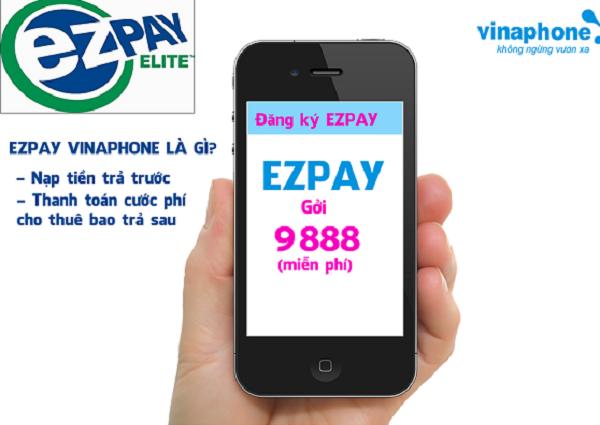 Hướng dẫn đăng ký tài khoản EzPay Vinaphone