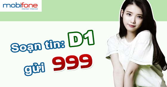Làm sao để đăng ký gói cước 3G 1 ngày D1 Mobifone?
