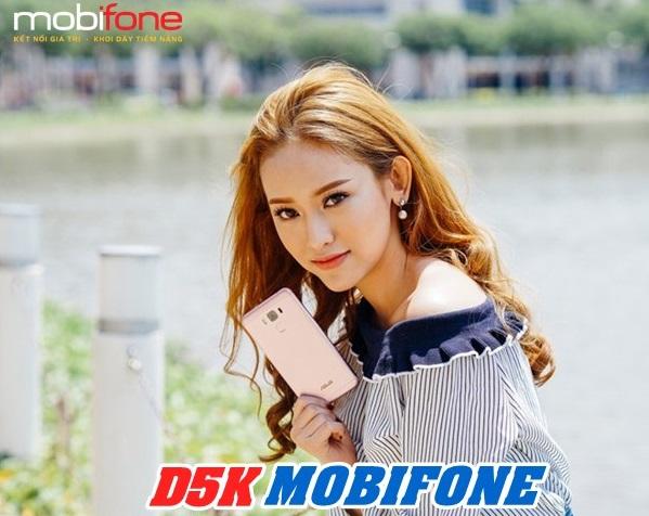 Ưu đãi 700MB data khi tham gia đăng ký gói cước 3G D5KMobifone