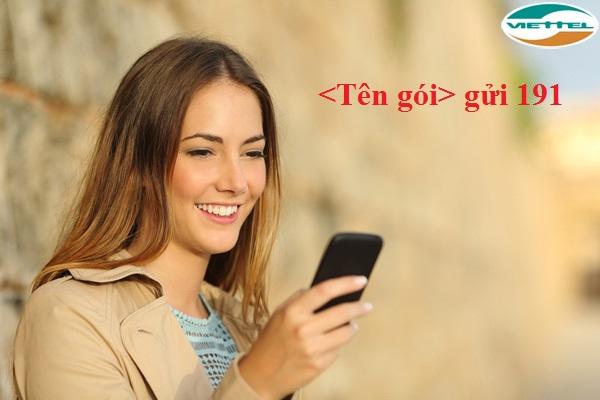 Bảng  giá gói 3G viettel  mới nhất hiện nay được triển khai