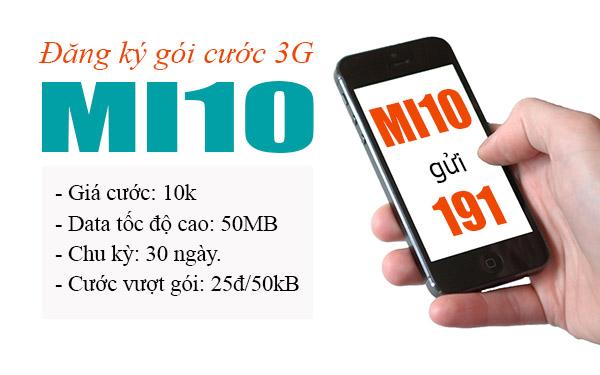 Tuyệt chiêu đăng kí gói Mi10 Viettel giá rẻ chỉ với 10.000đ