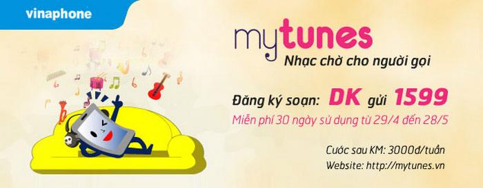Làm sao để đăng ký dịch vụ MyTunes Vinaphone?