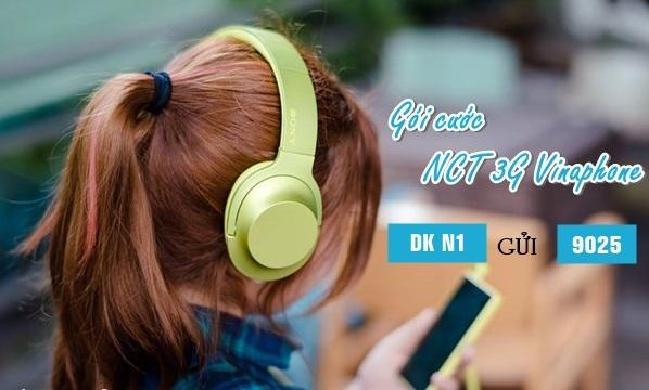 Hướng dẫn đăng ký gói cước nghe nhạc NCT 3G Vinaphone