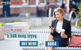 Ưu đãi 5,5GB khi tham gia đăng ký gói 3G M200 Mobifone