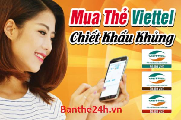 Mách bạn cách mua thẻ Viettel online nhanh nhất