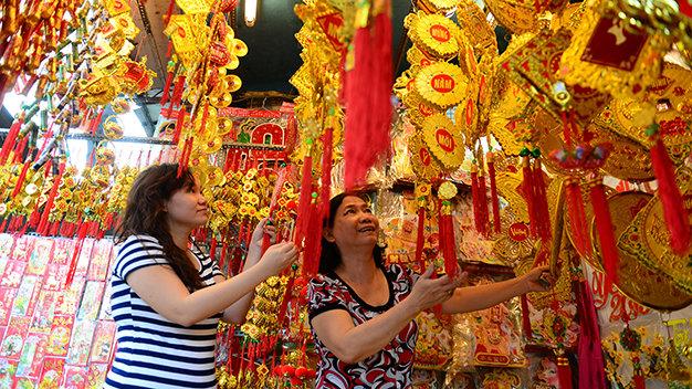 : Những món đồ không thể thiếu trong dịp Tết Nguyên Đán