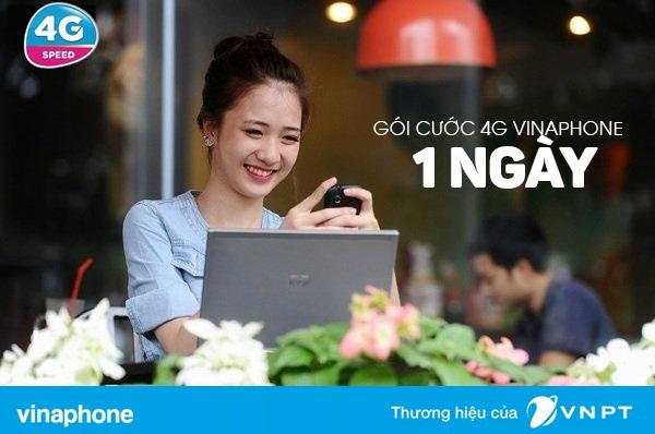 Hướng dẫn nhanh cách đăng kí gói 4G vinaphone 1 ngày ưu đãi nhất