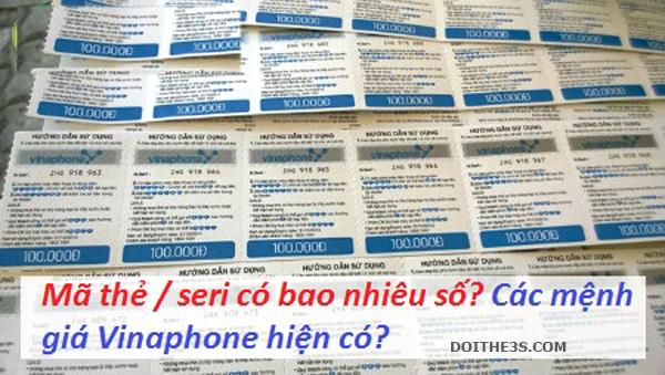 Giải đáp thông tin thẻ cào vinaphone có bao nhiêu số?