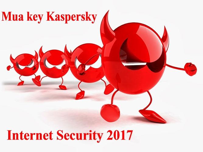 Cách mua key Kaspersky Internet Security 2017 đơn giản nhất