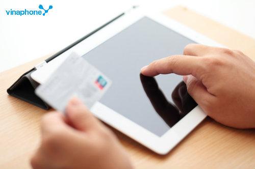Hướng dẫn nạp tiền cho sim trả trước Vinaphone trên Ipad
