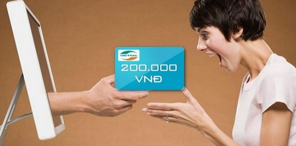 Hướng dẫn mua thẻ viettel online giá rẻ