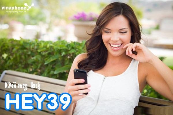 Hướng dẫn nhanh cách đăng kí gói HEY39 vinaphone nhận ưu đãi lớn nhất